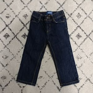 Old Navy Toddler Boys Pull-on Dark Wash Jeans 2T
